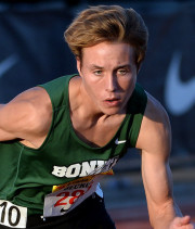 Dillon Beckum - His amazing 50.90/1:56.57/4:21.79 plus a 3rd in the 3200 put Bonita past Ayala last week.