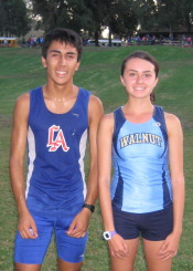 Race Winners Danny Venegas and Chloe Arriaga